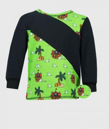 Long Sleeve T-shirt Pirates Ships
