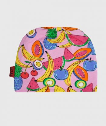 Baggy Hat Fruits Pink