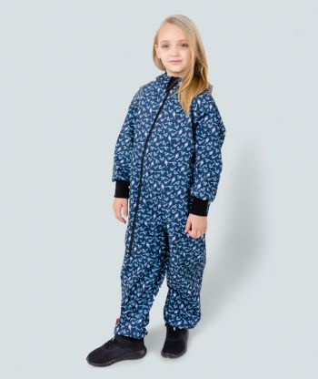 Waterproof Softshell Overall Comfy Wagtail Jumpsuit