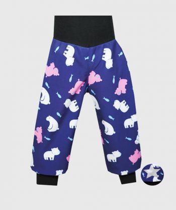 Waterproof Softshell Pants Polar Bears